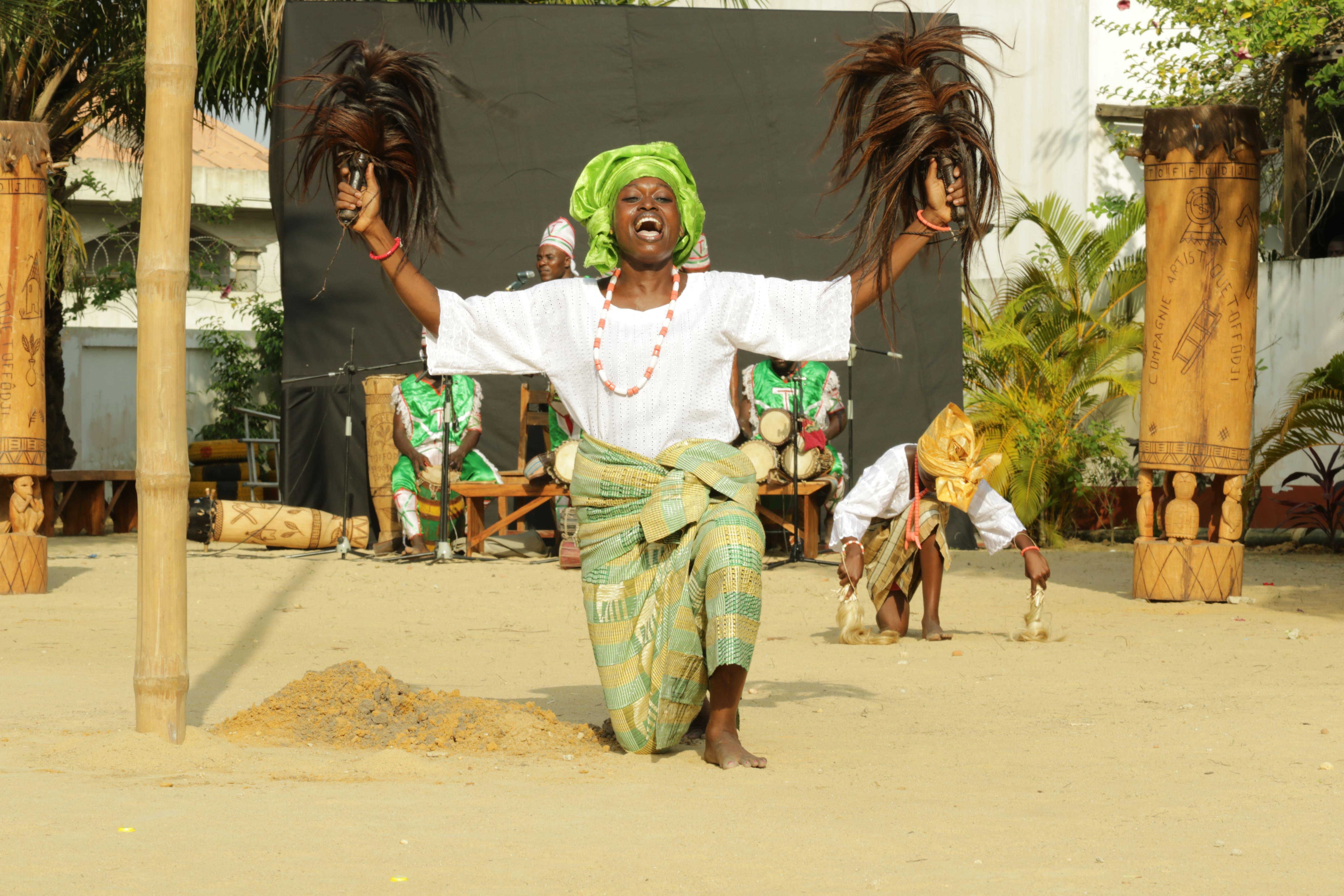 Danse traditionnelle avec la Compagnie artistique Toffodji #3