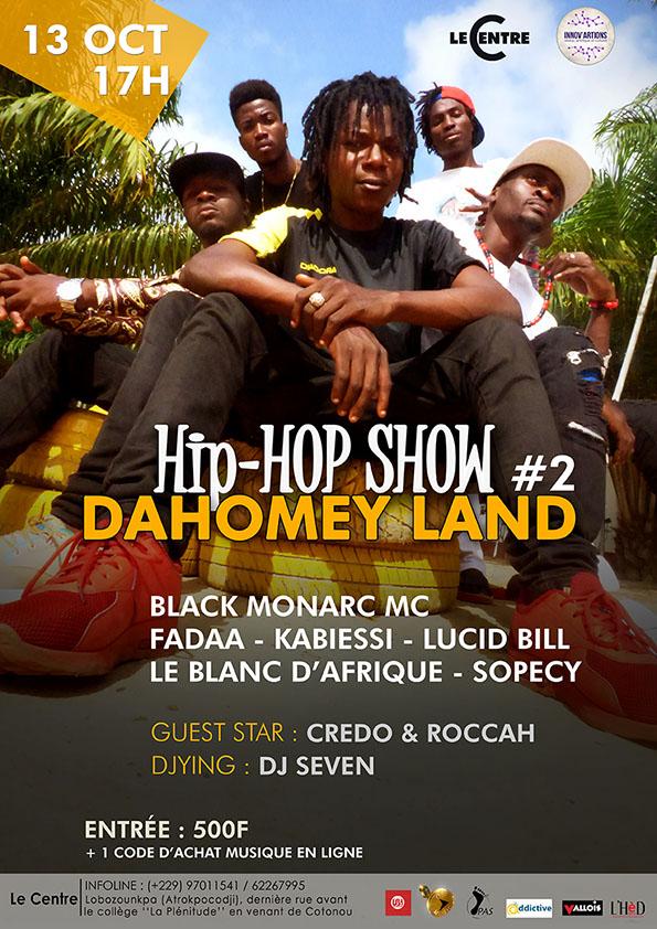 Dahomey Land Hip Hop Show #2