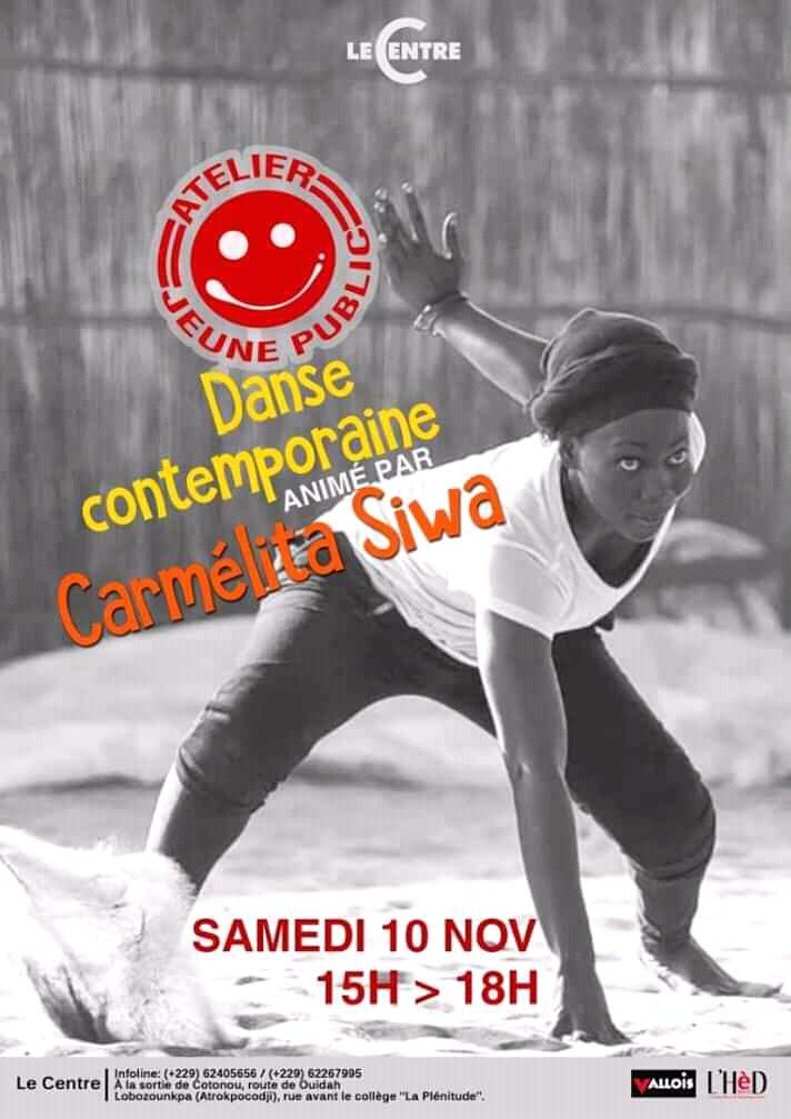 Atelier jeune public danse, avec Carmelita Siwa