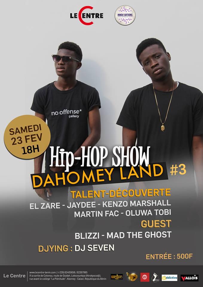 Concert, Dahomey Land Urban Live Show #3