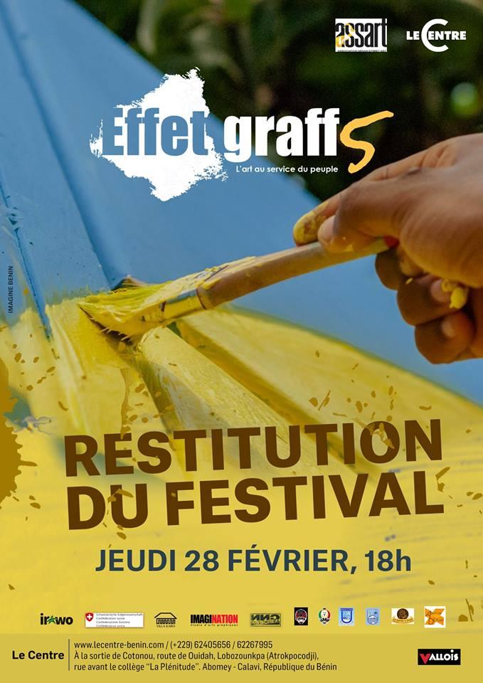 Restitution du festival Effet Graff #5