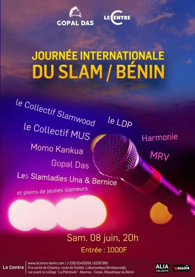 Soirée, Journée internationale du slam