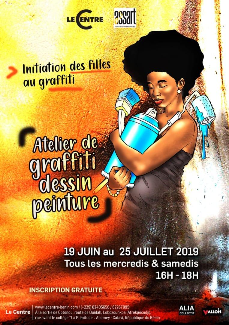 Initiation et formations des jeunes filles au graffiti