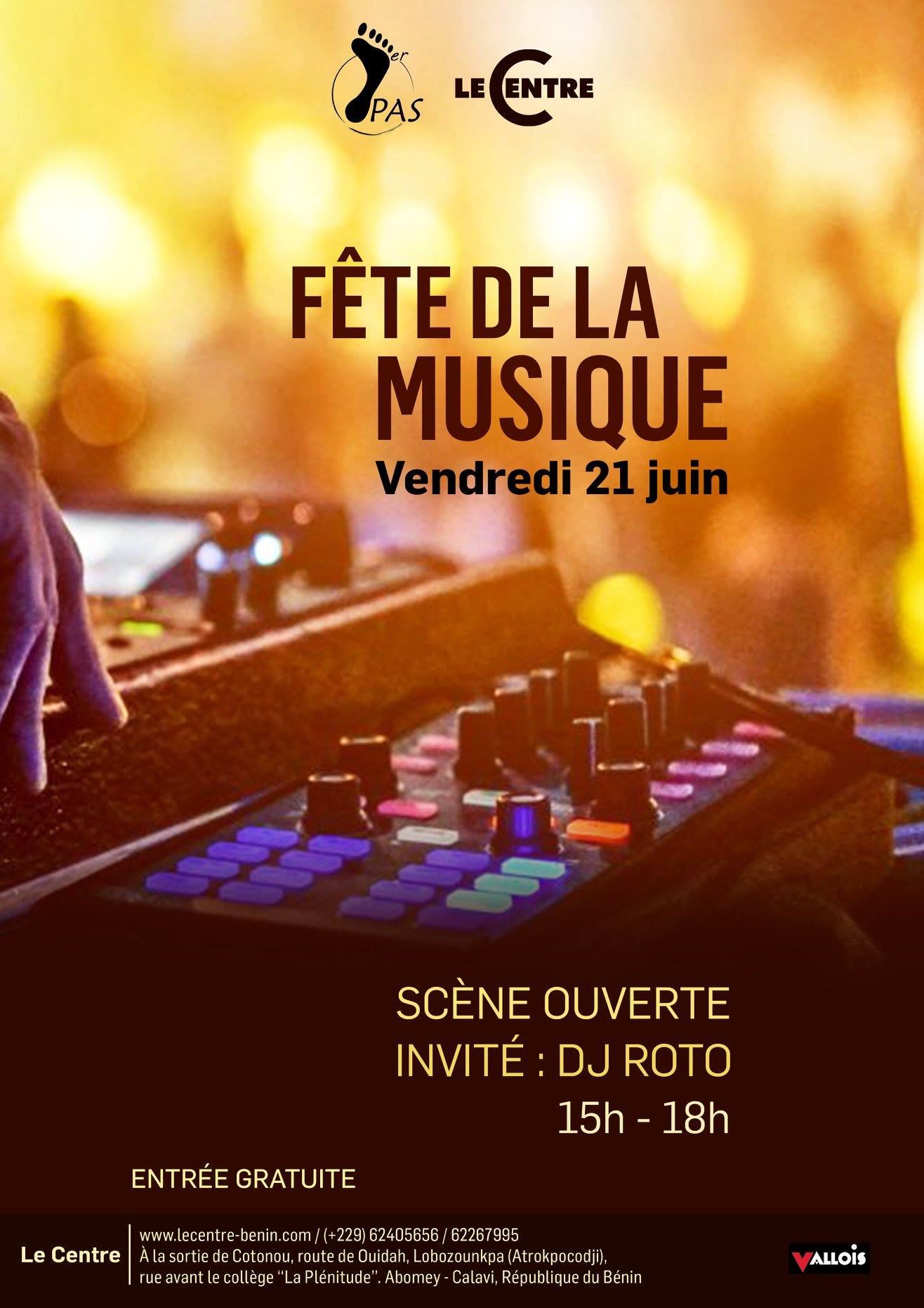 Fête de la musique 2019, Open mic avec DJ Roto