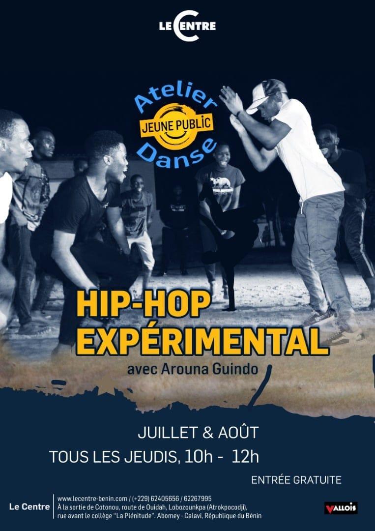 Atelier Hip-hop expérimental, avec Arouna Guindo
