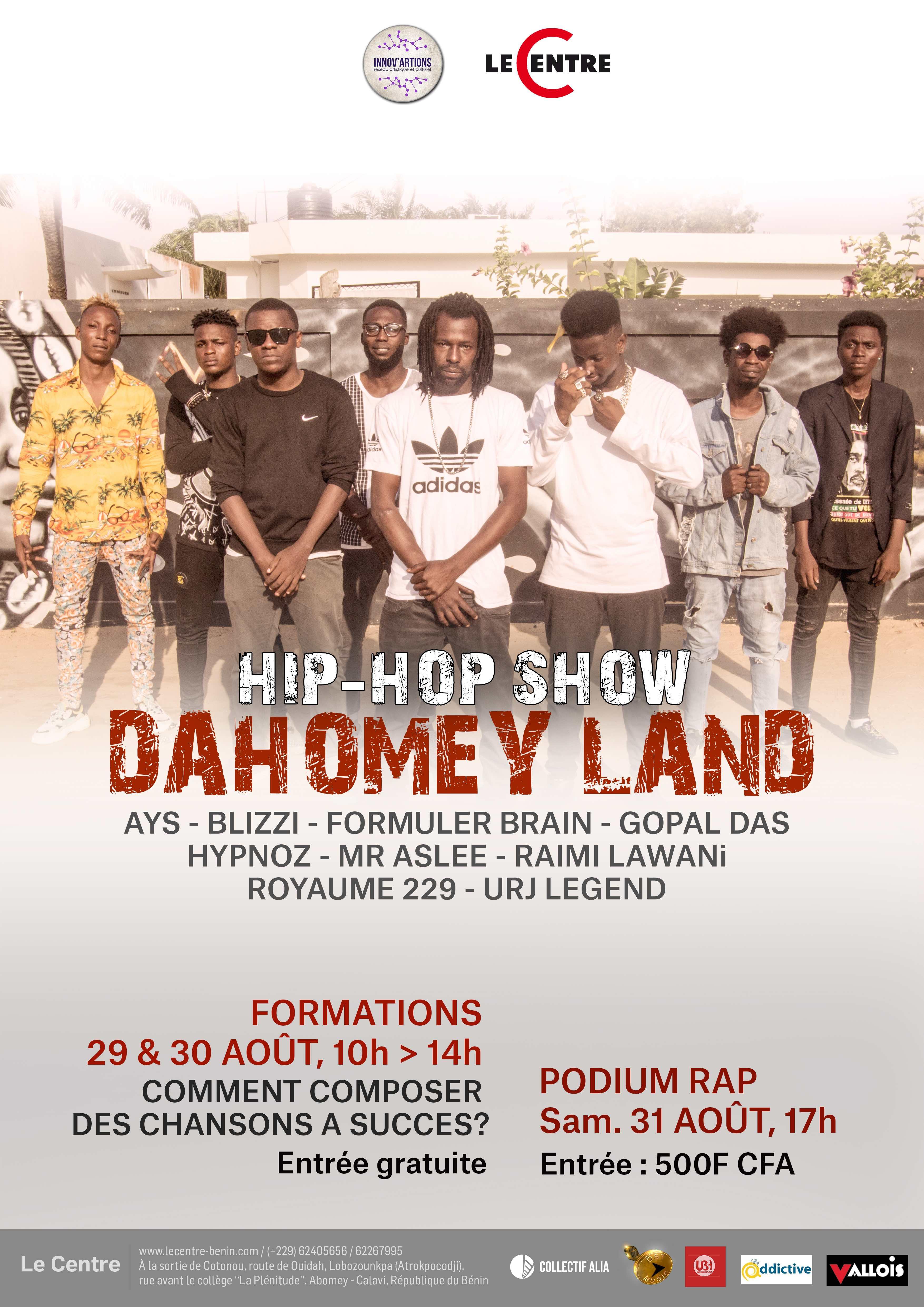 Dahomey Land Hip-Hop Live Show #4