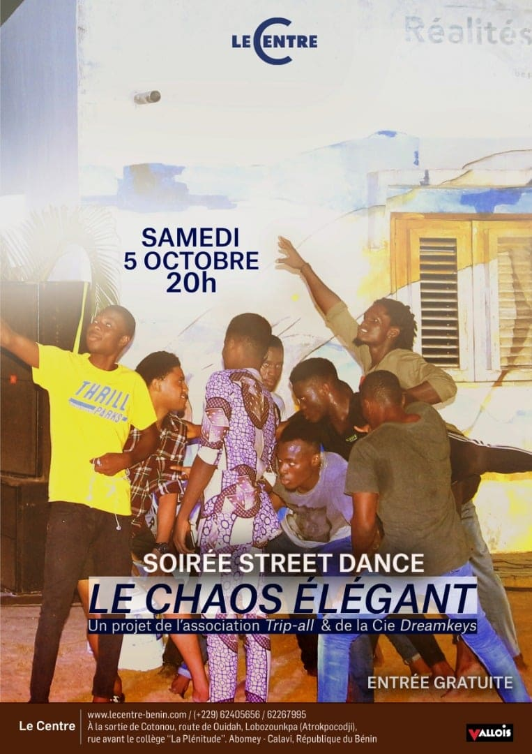 Soirée street dance, Le Chaos élégant