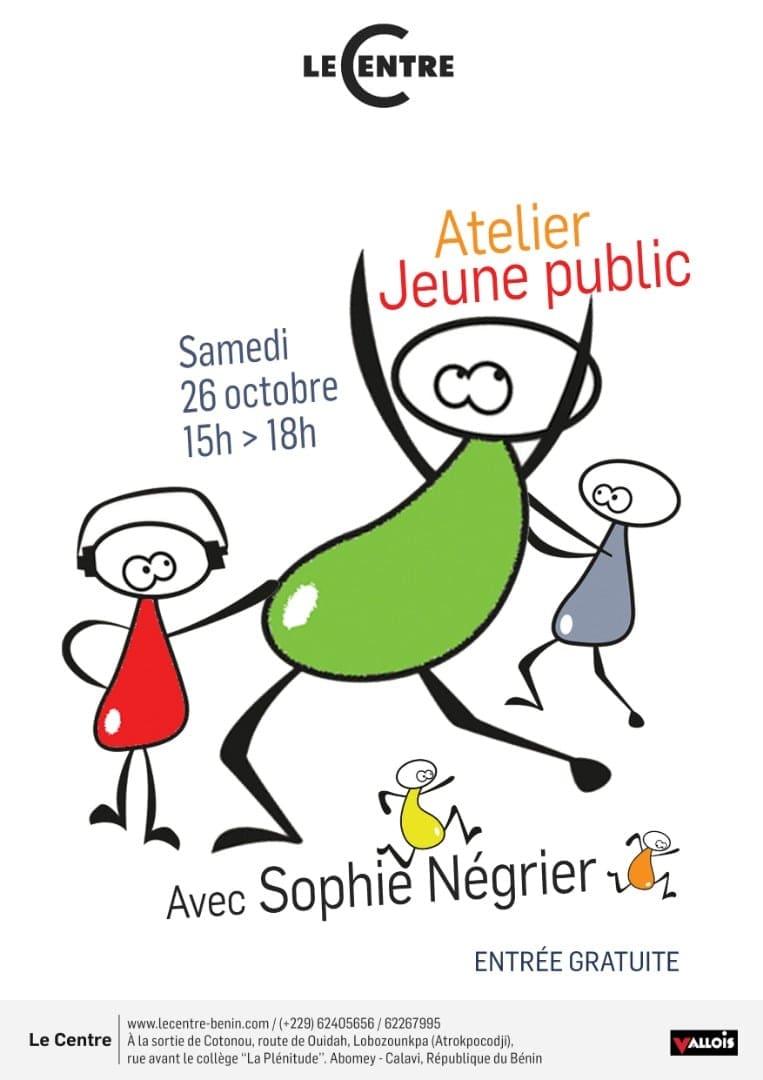 Atelier, avec Sophie Négrier