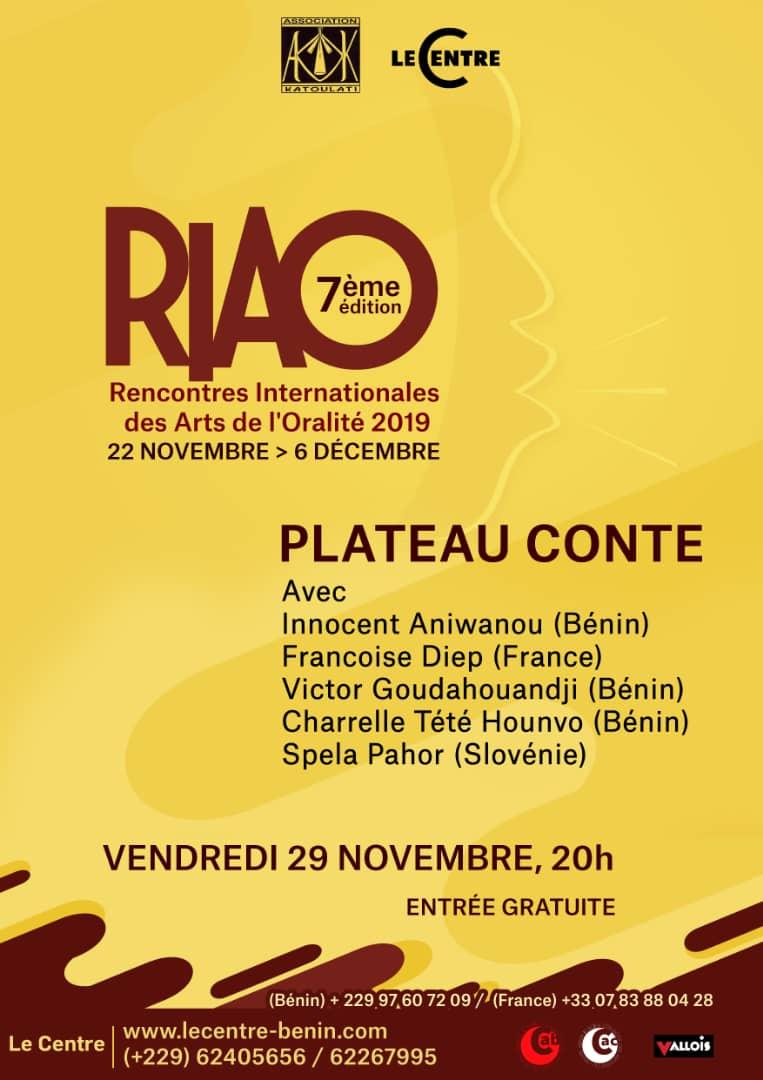 RIAO, Plateau-conte