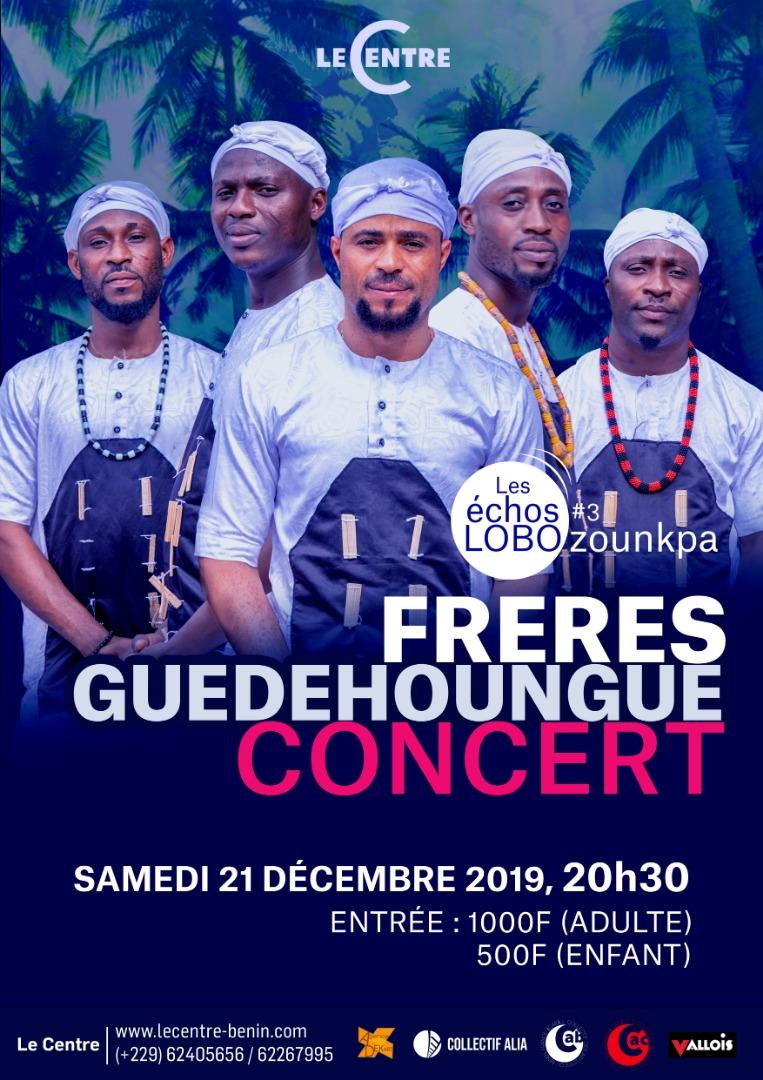 Concert, Les Frères Guèdèhounguè