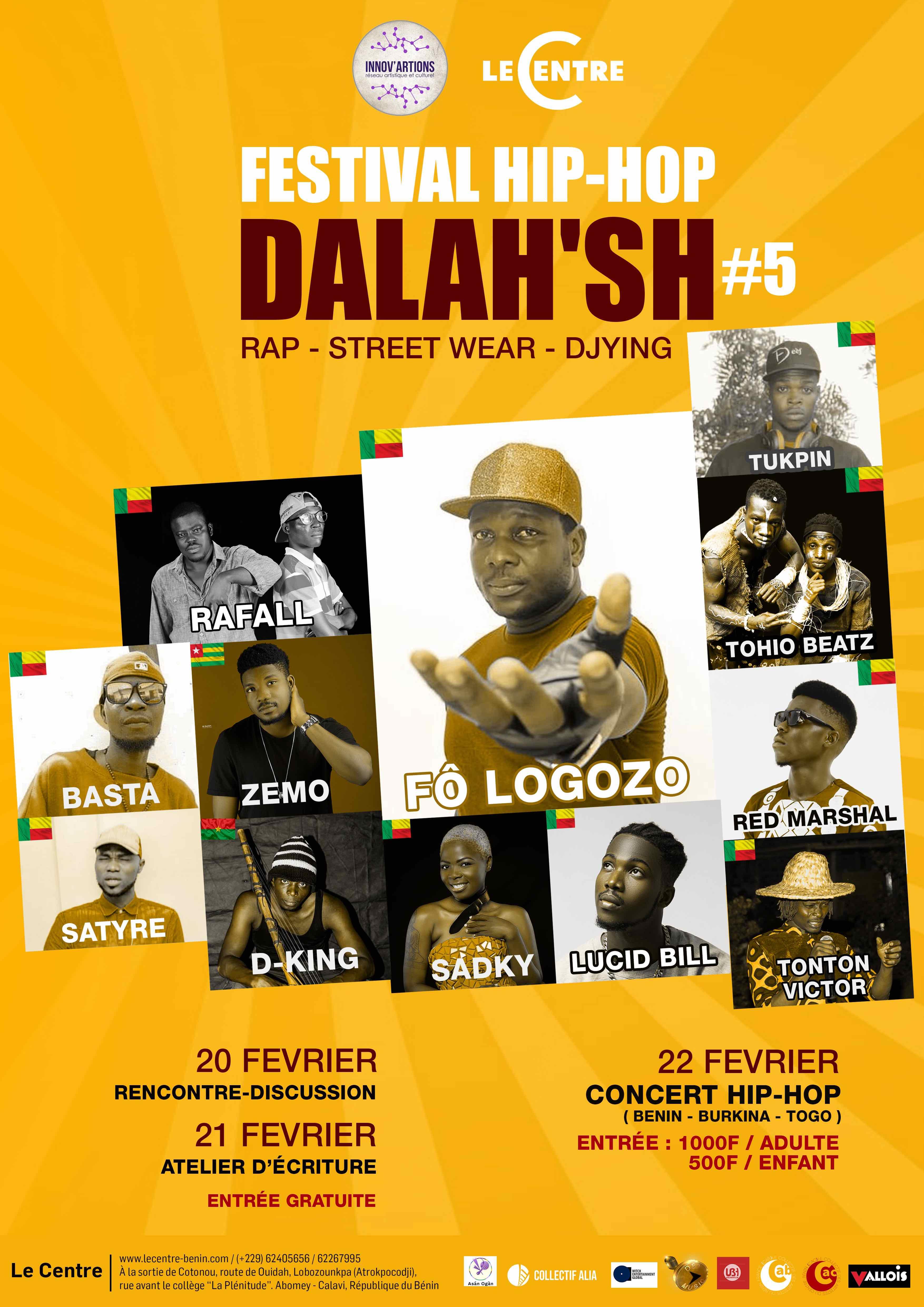 Festival, Dahomey Land Hip hop Show #5