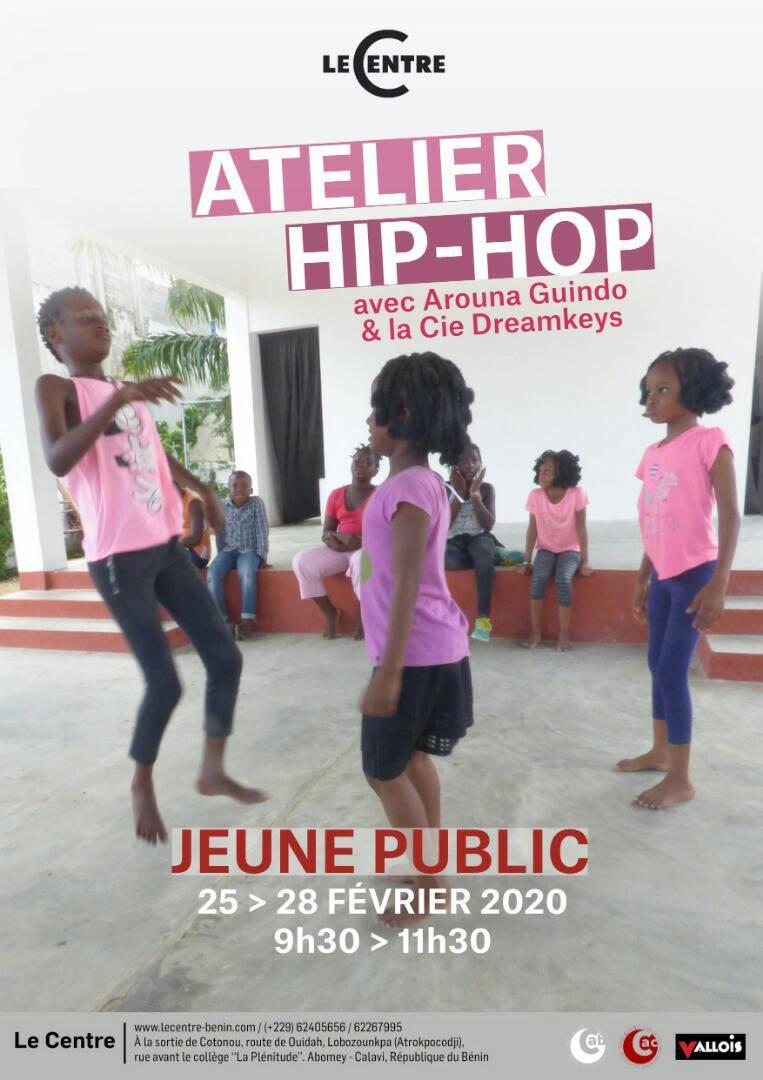 Atelier jeune public, Hip-hop expérimental