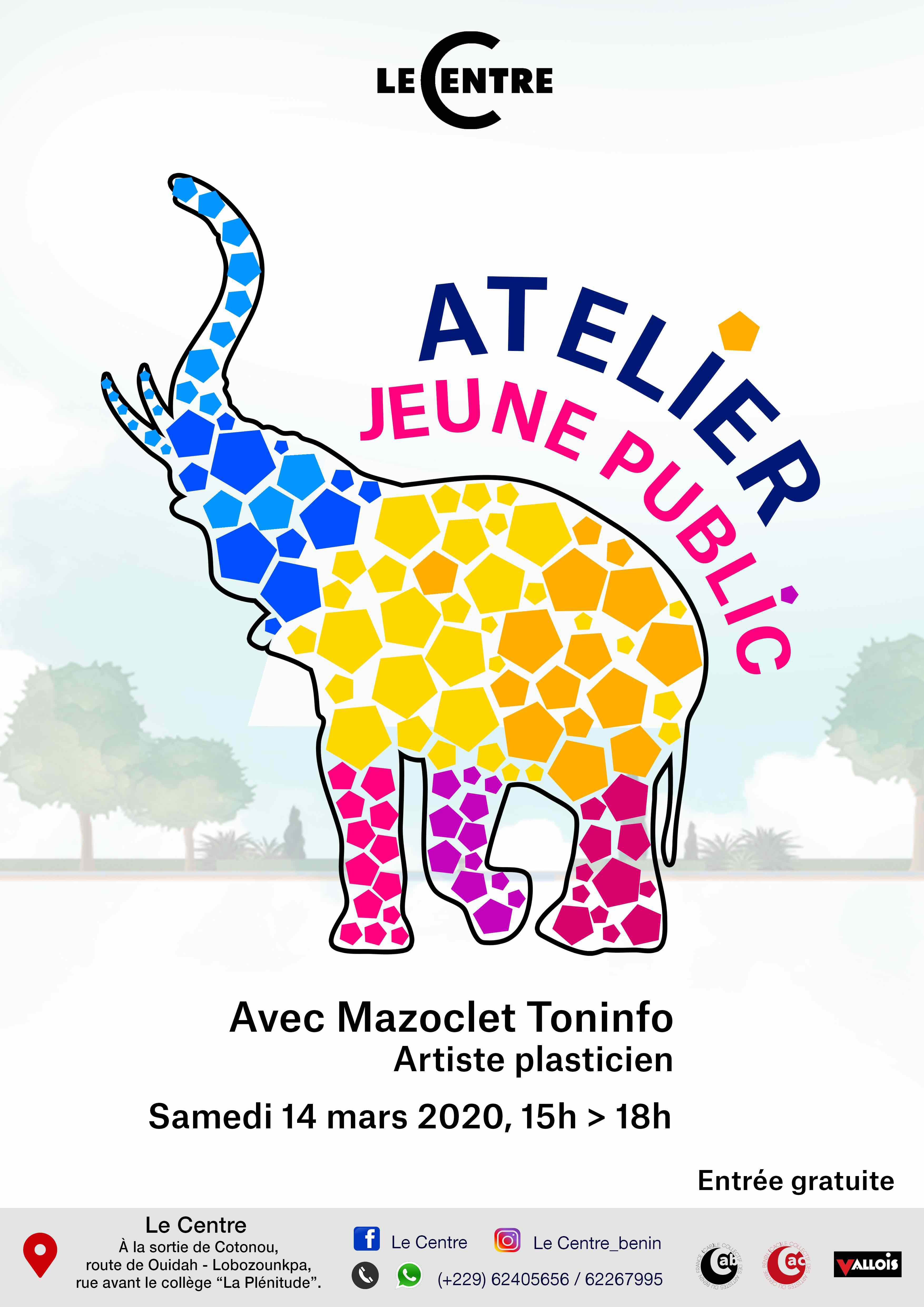 Atelier jeune public, Mazoclet Toninfo