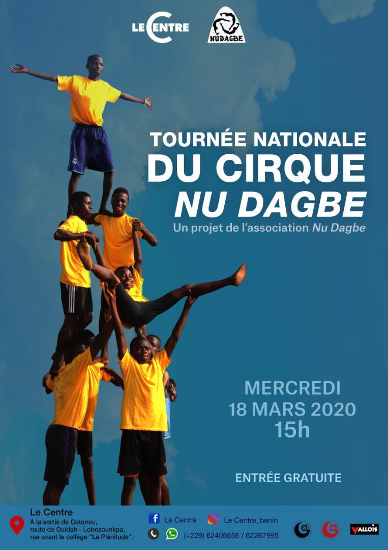 Spectacle, Cirque Nu Dagbé