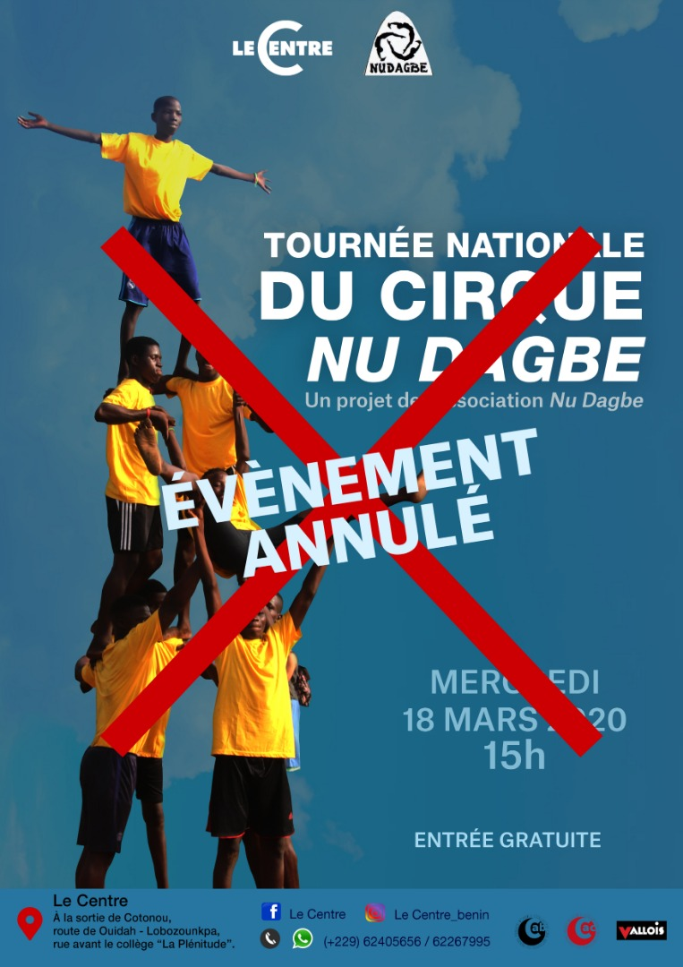 URGENT_ SPECTACLE ANNULE