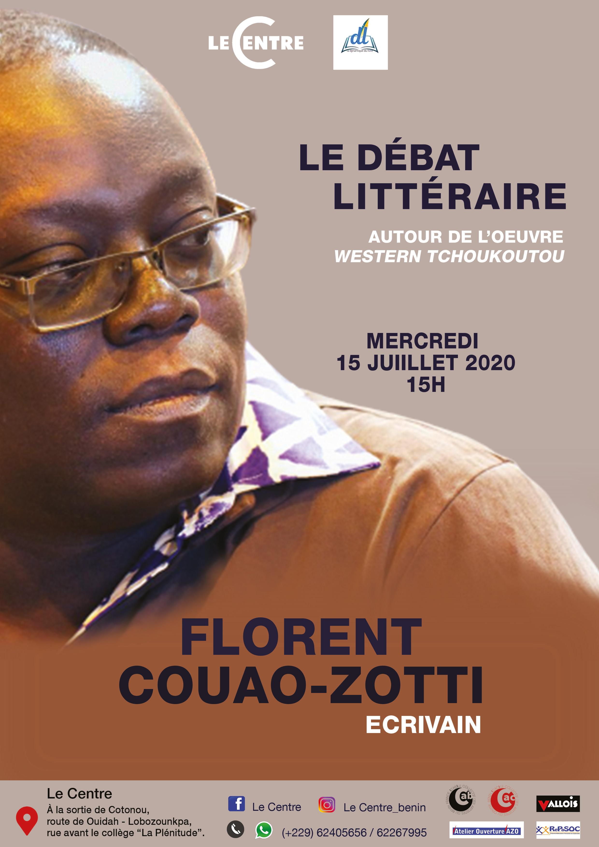 Le Débat Littéraire, Florent Couao-Zotti