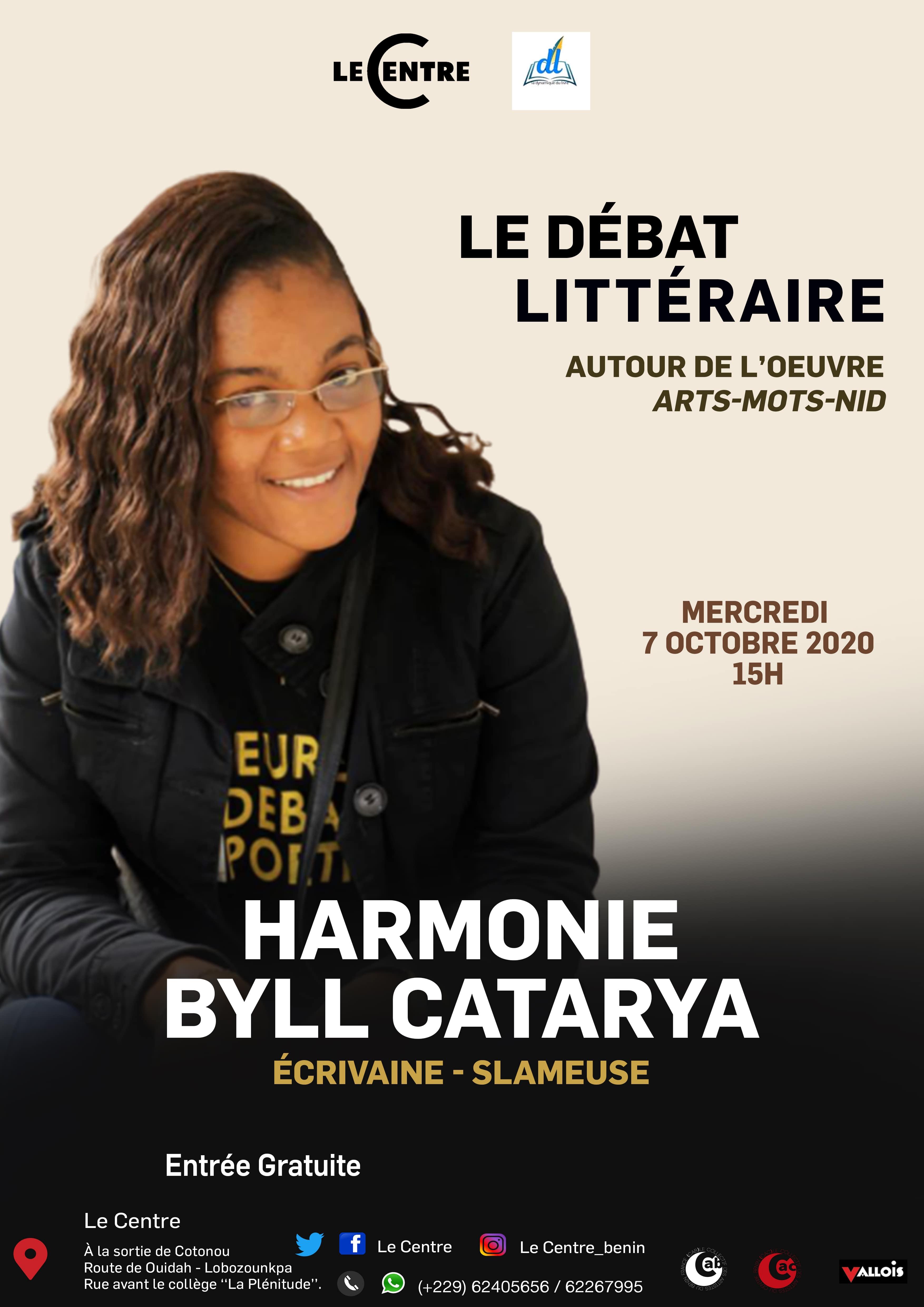 Le Débat littéraire, Harmonie Byll Catarya