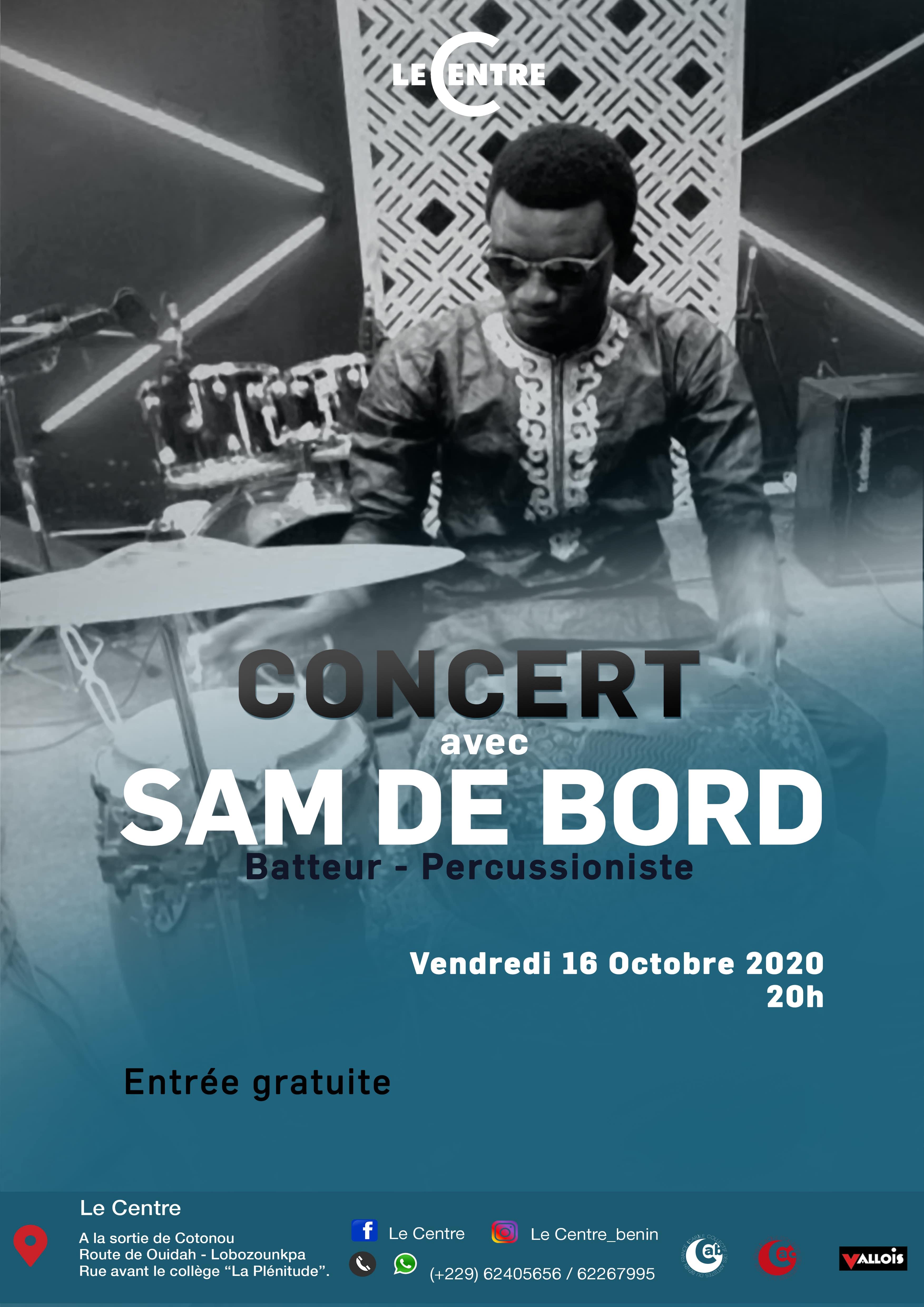 Concert, Sam de Bord