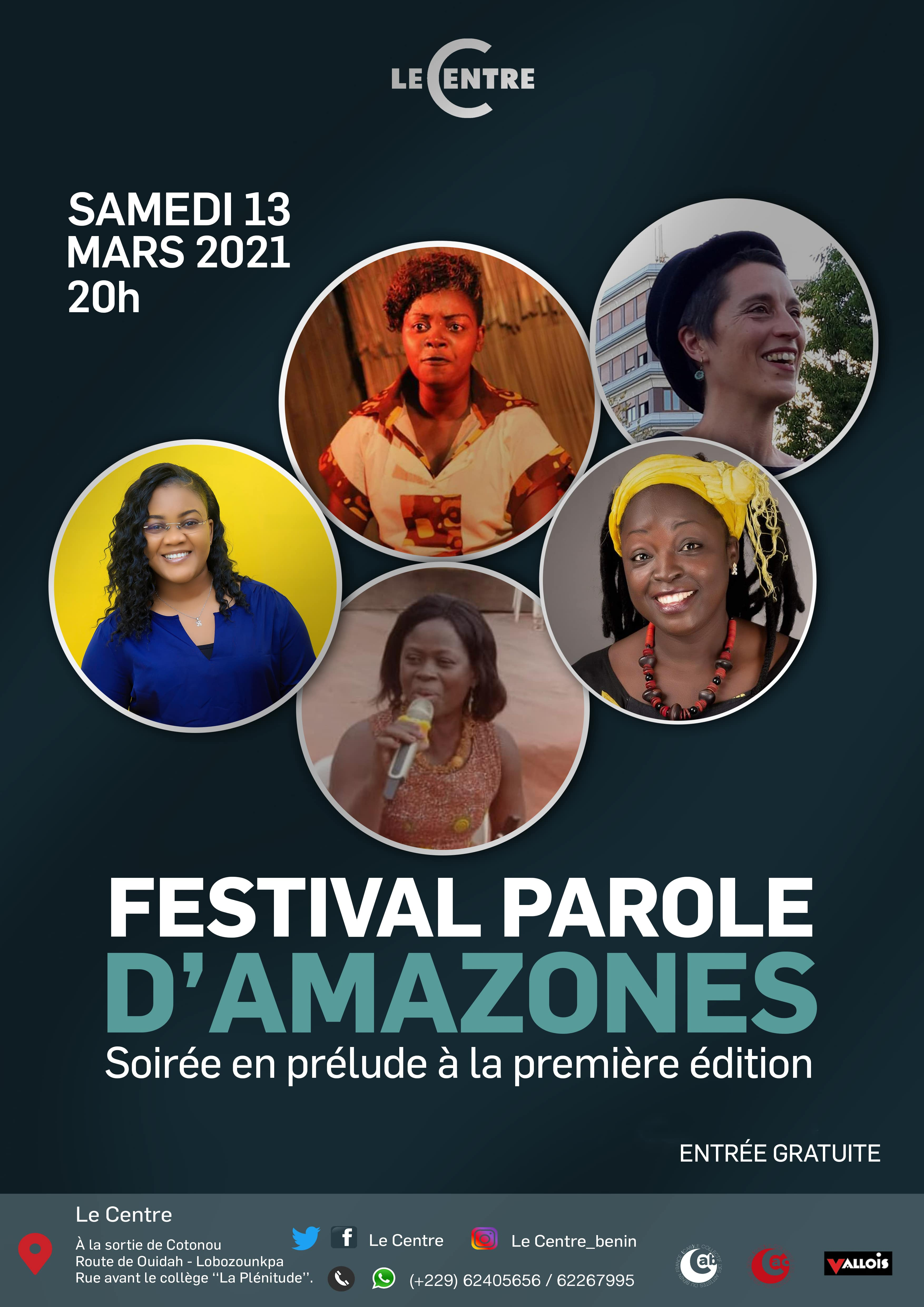 Festival Parole D'Amazones, Soirée en prélude