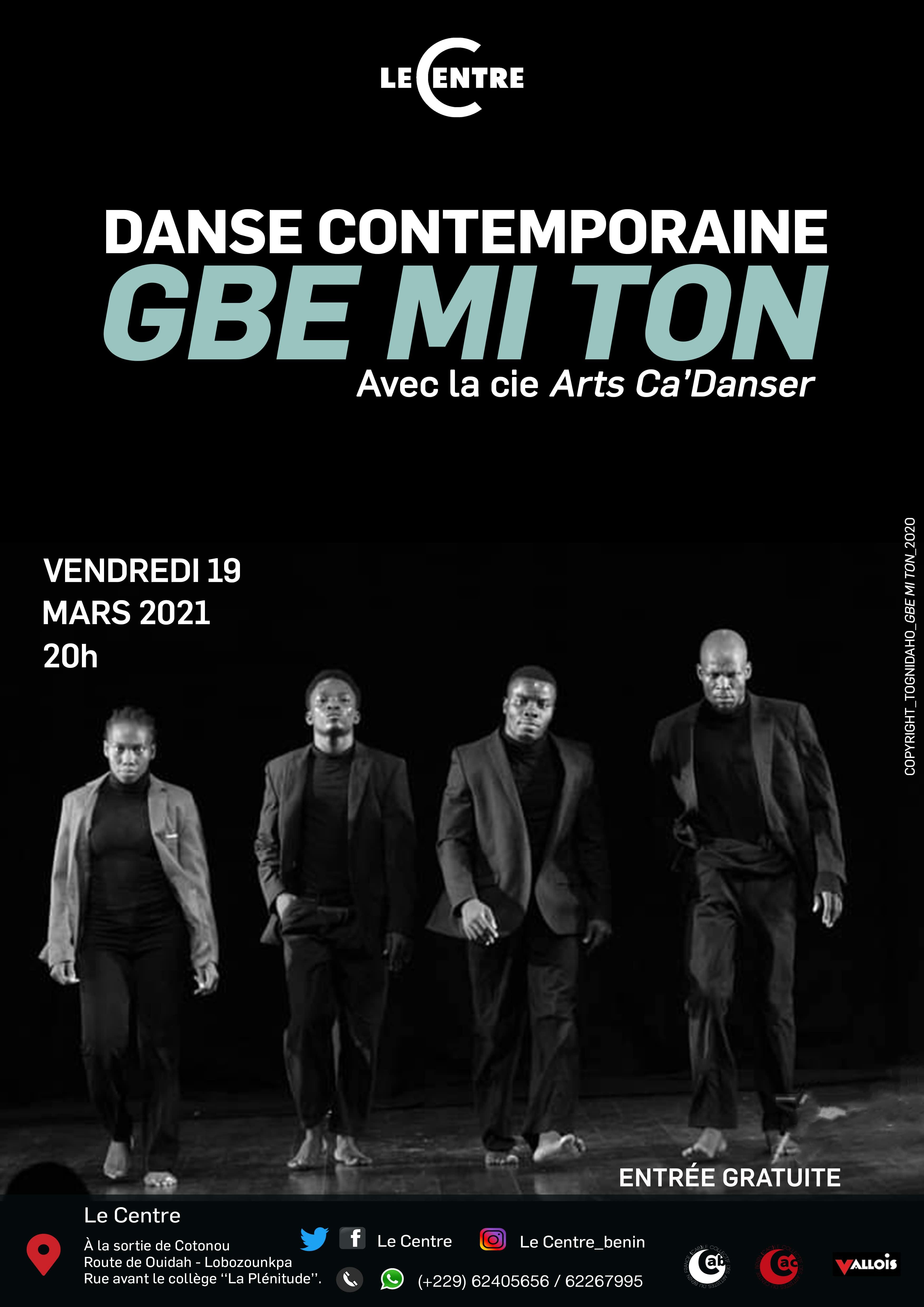 Danse contemporaine GBE MI TON
