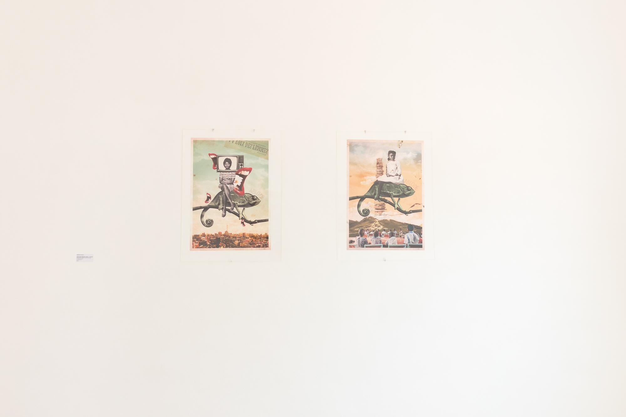 Mounia Youssef, Chameleon Women series, 2019