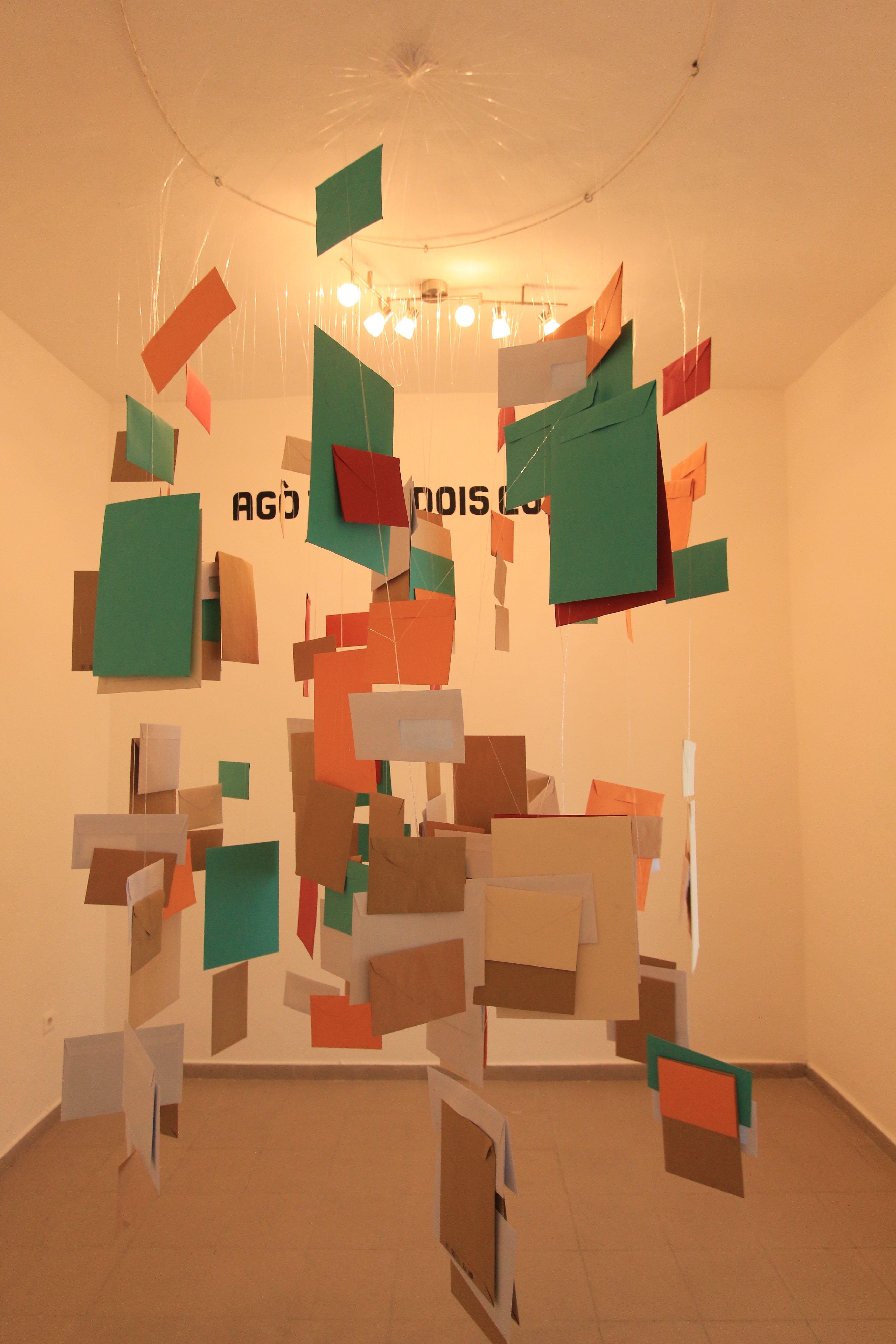 Doto Kuassi & Orémi, Agò tu me dois combien ?, Installation, 2019