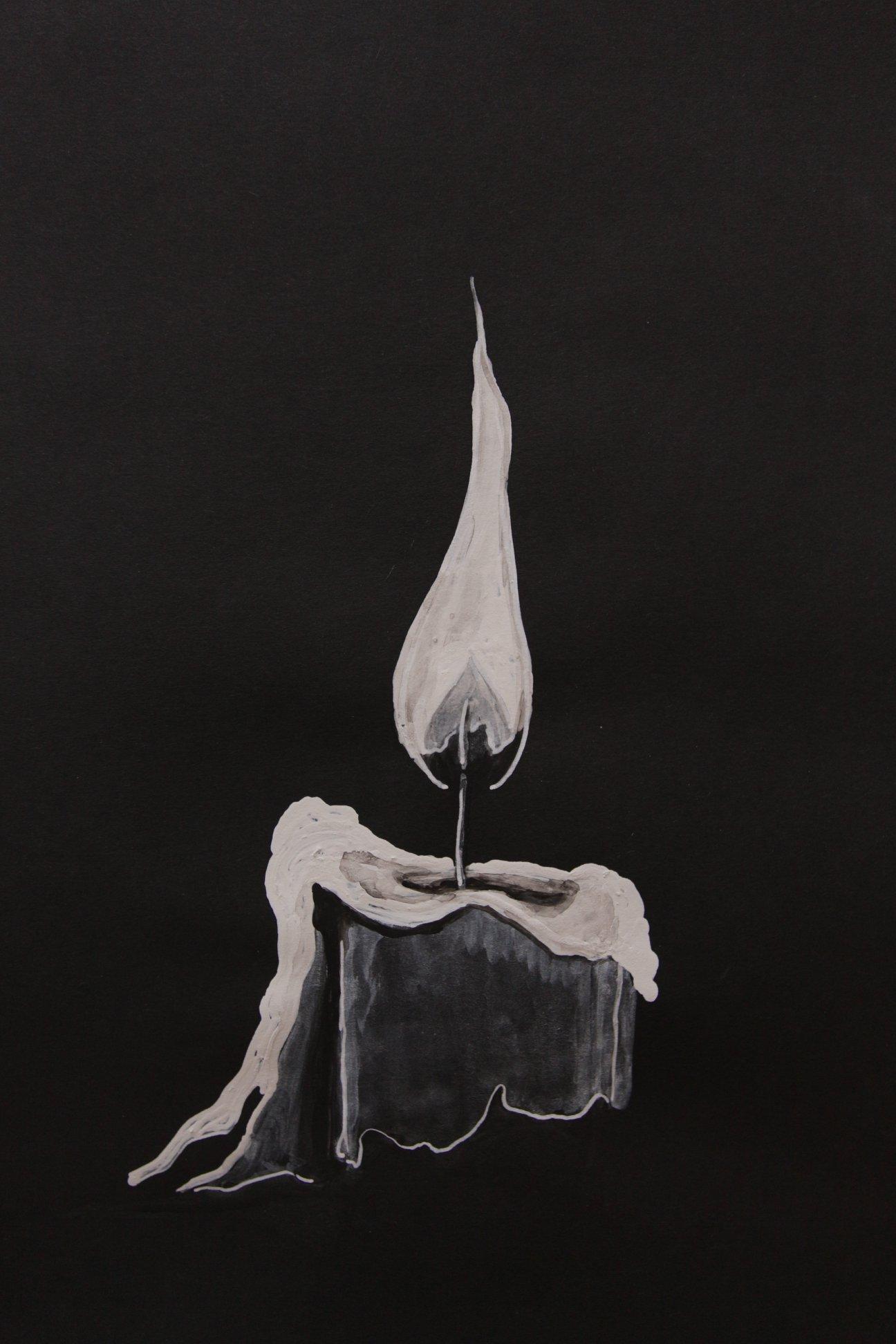Sènami Donoumassou, 9 bougies, Dessins, 2019.