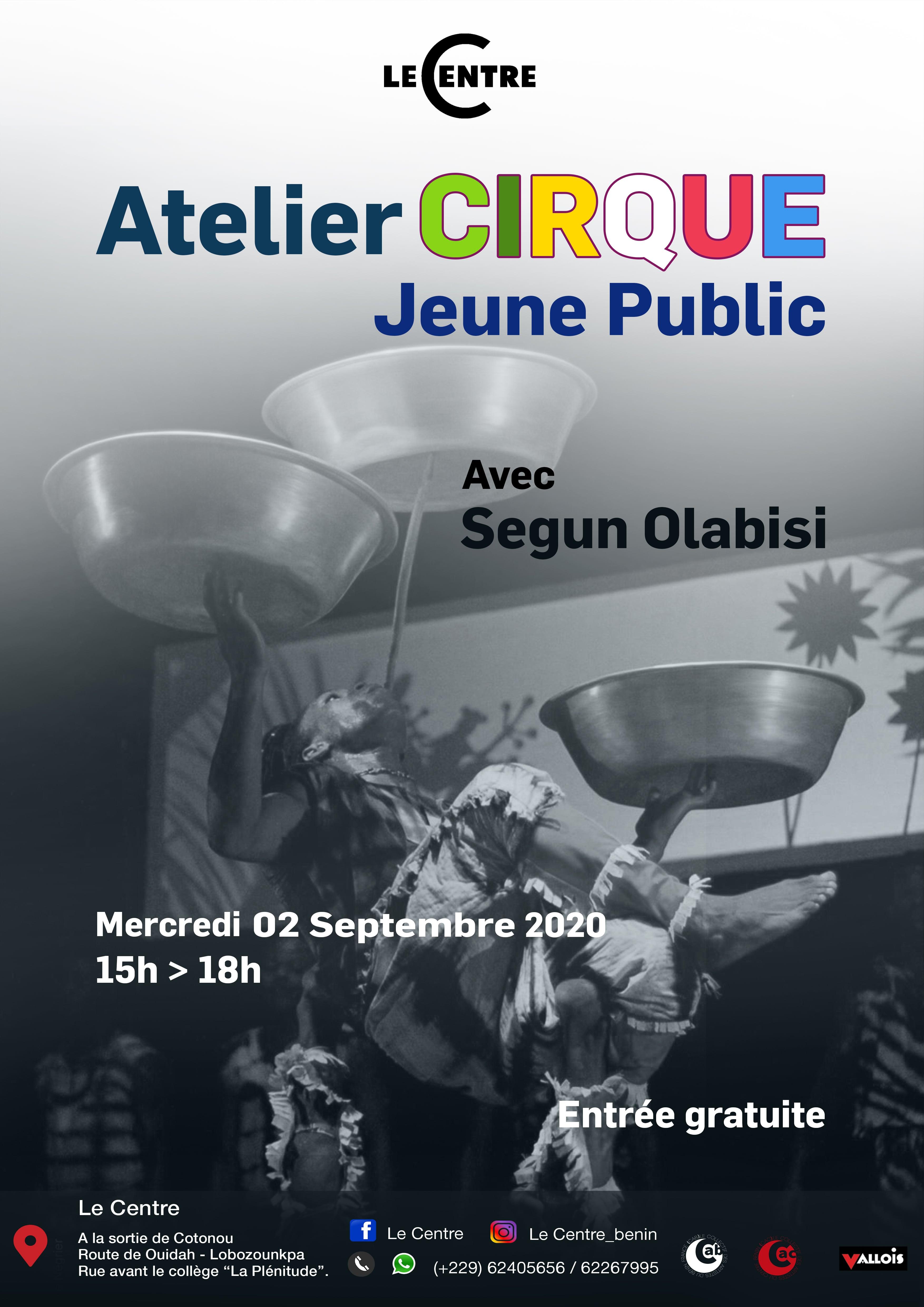 Atelier cirque avec Segun Olabisi