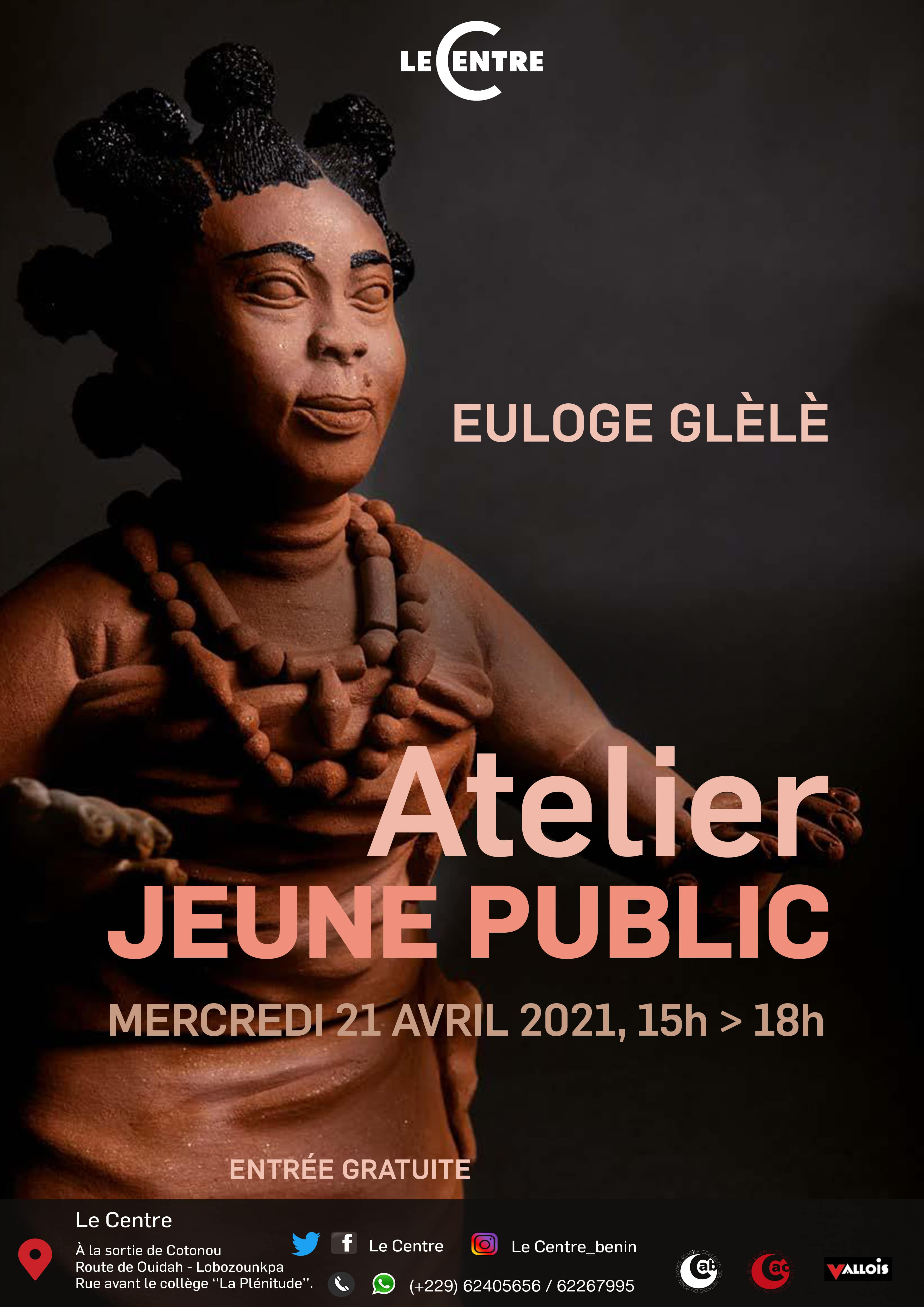 Atelier jeune public, Euloge Glèlè
