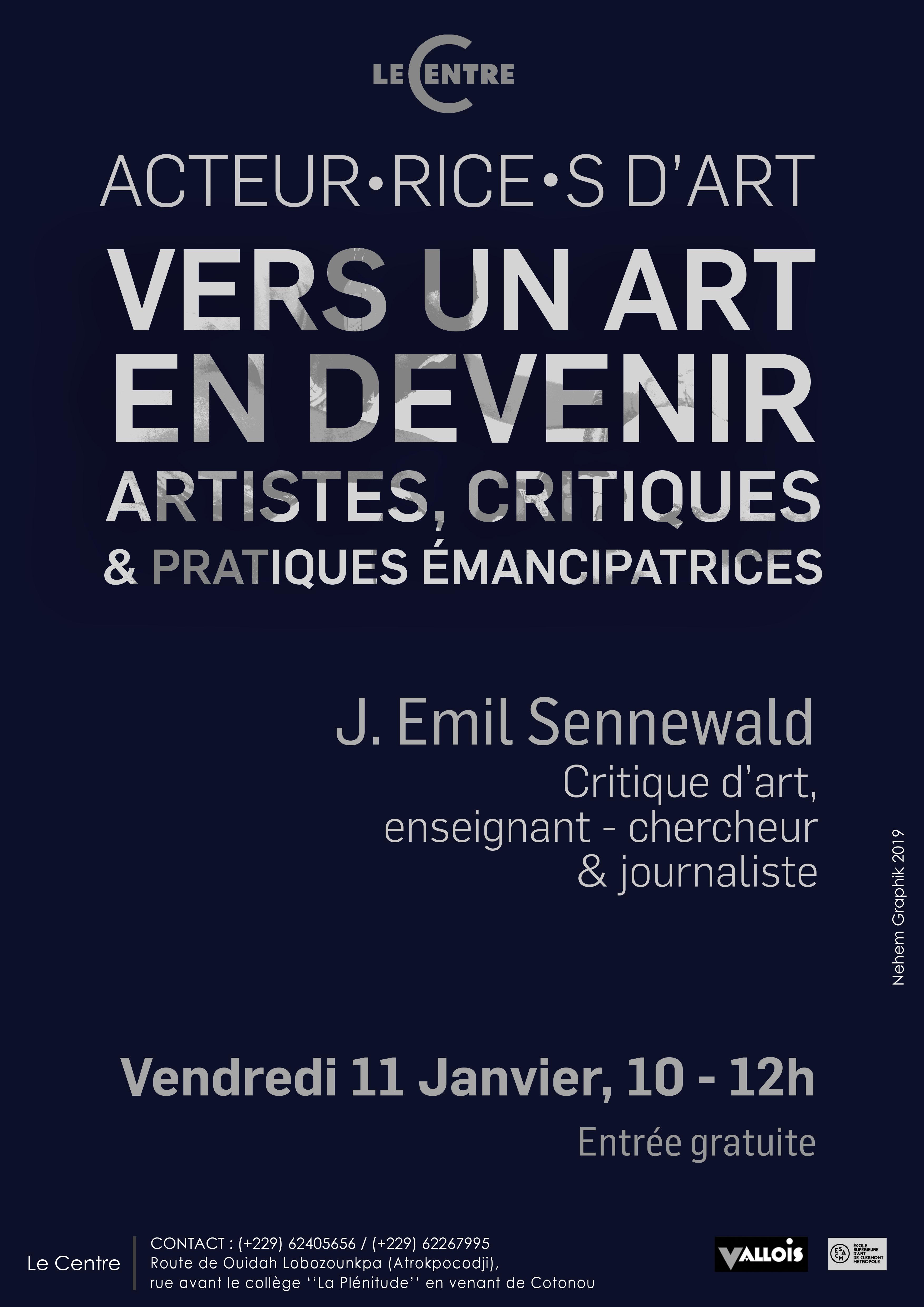 Acteur·rice·s d'art, J. Emil Sennewald