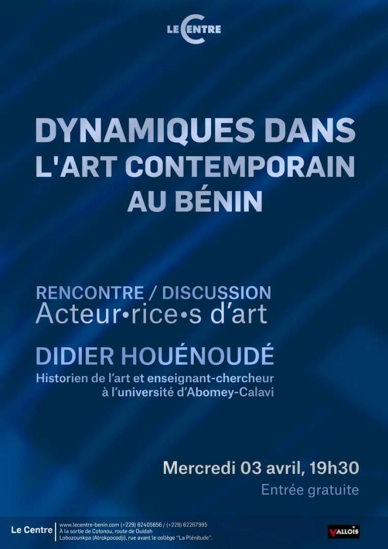 Acteur·rice·s d'art, Didier Houénoudé