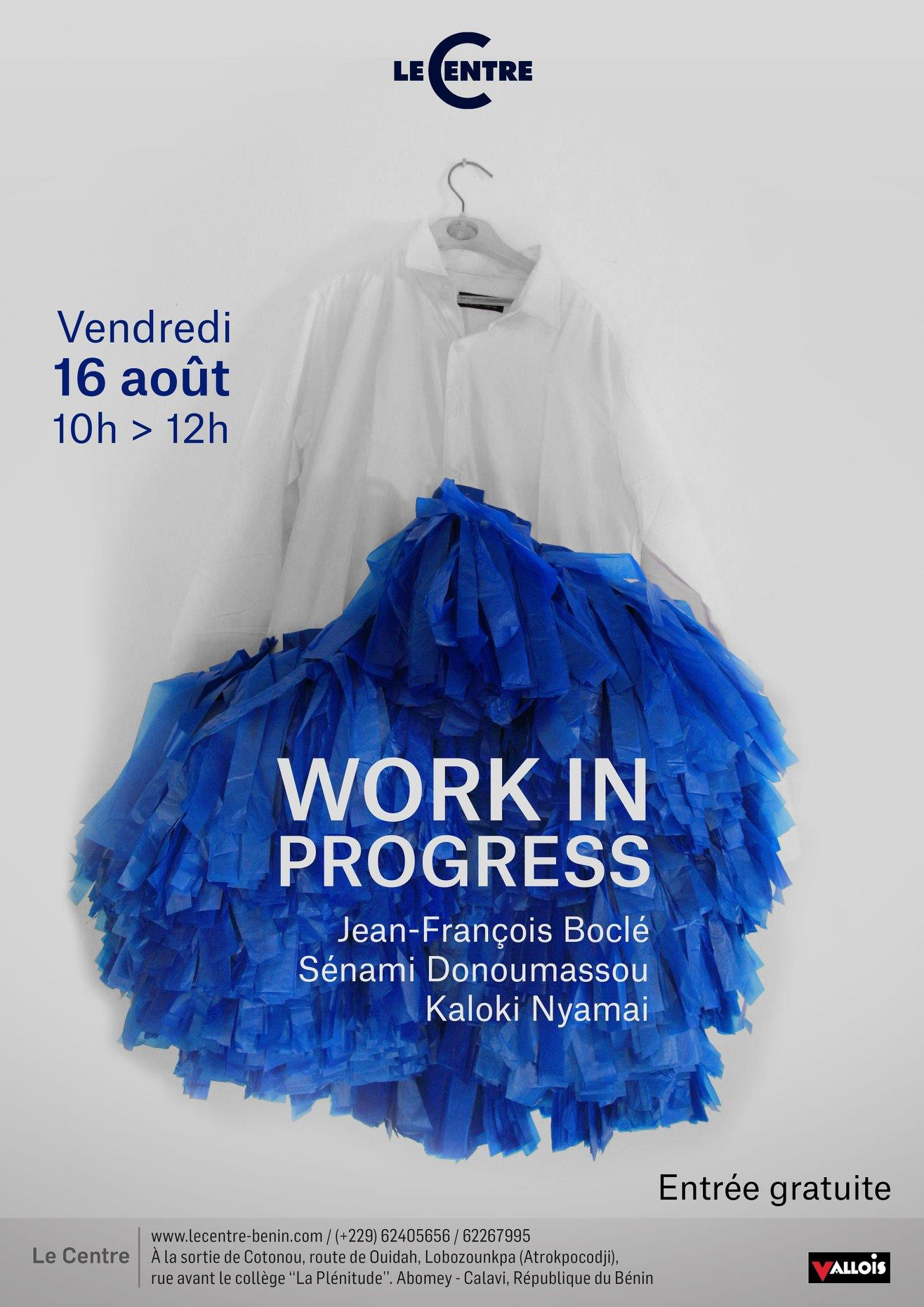 Work in progress, Résidence  Boclé, Donoumassou & Nyamai