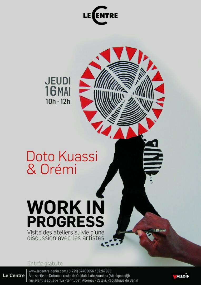 Work in progress, Résidence Doto Kuassi & Orémi