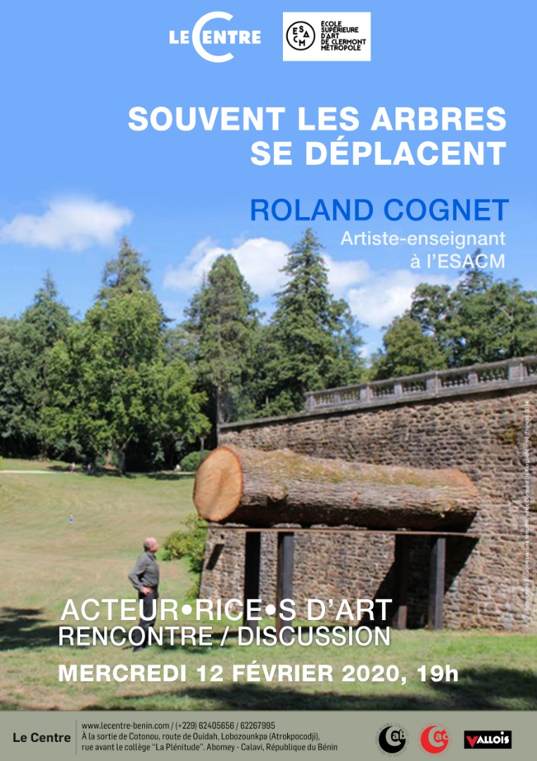 Acteur·rice·s d'art // Roland Cognet