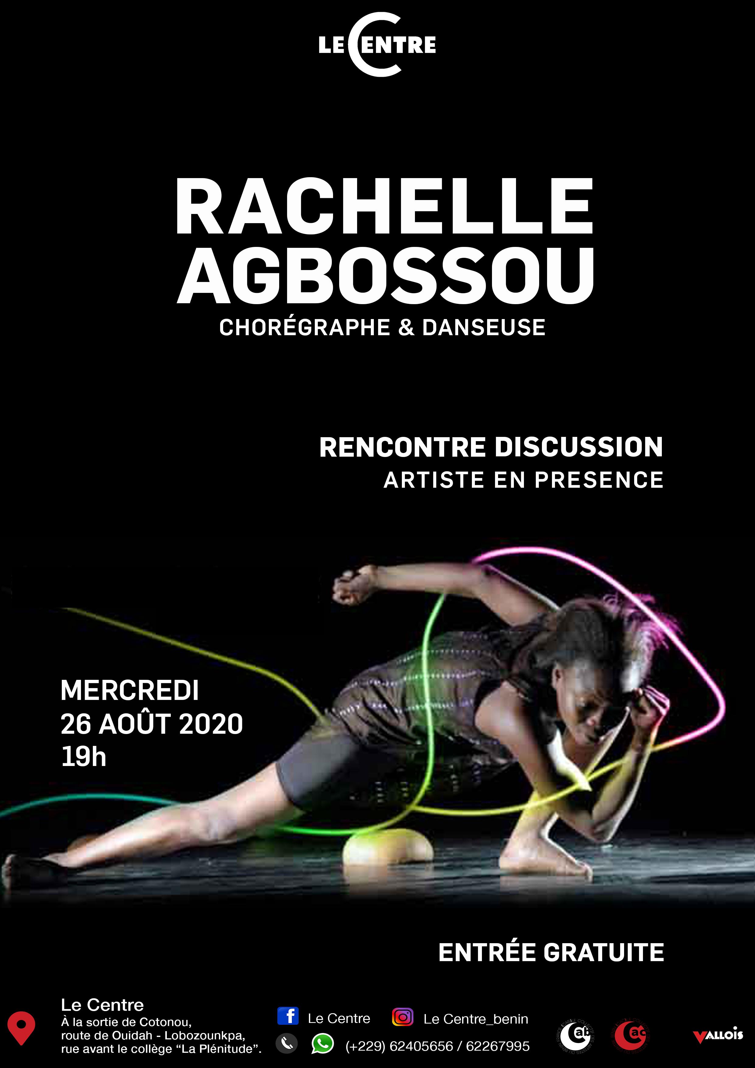 Artiste en présence, Rachelle Agbossou