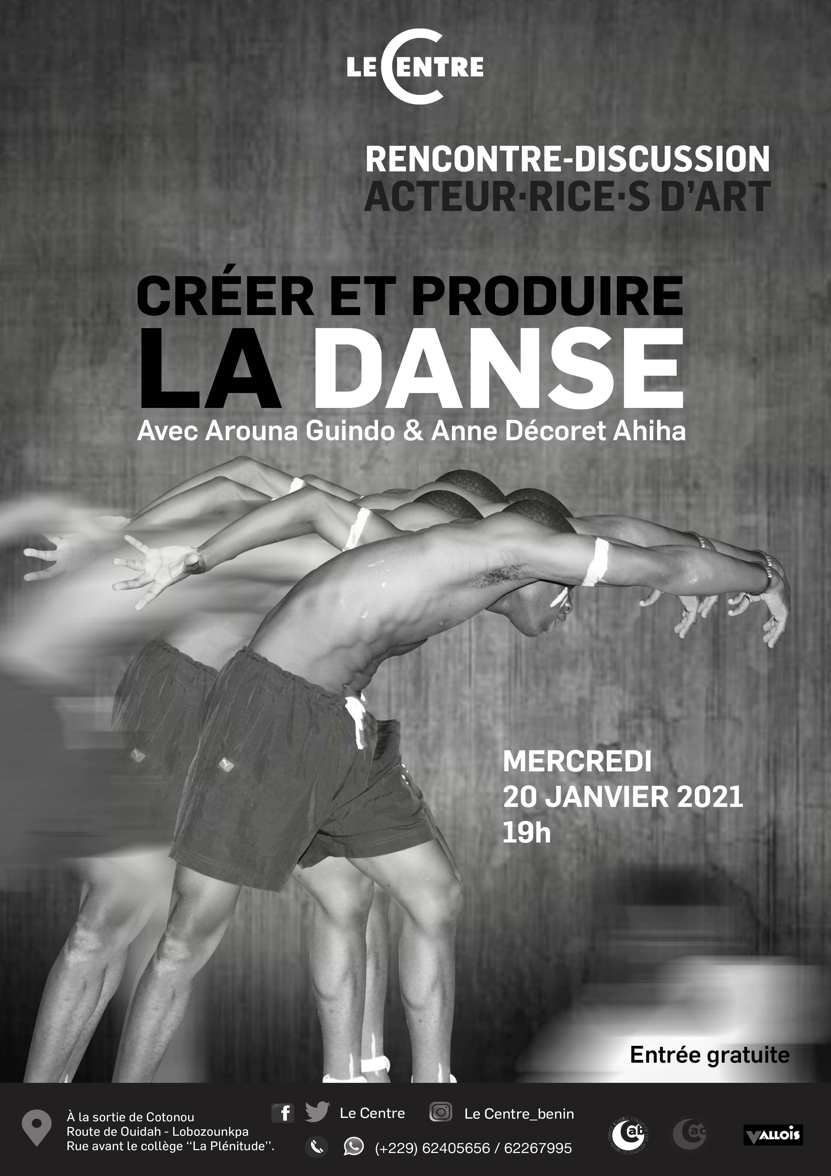 Acteur·rice·s d'Art, Créer et produire la danse
