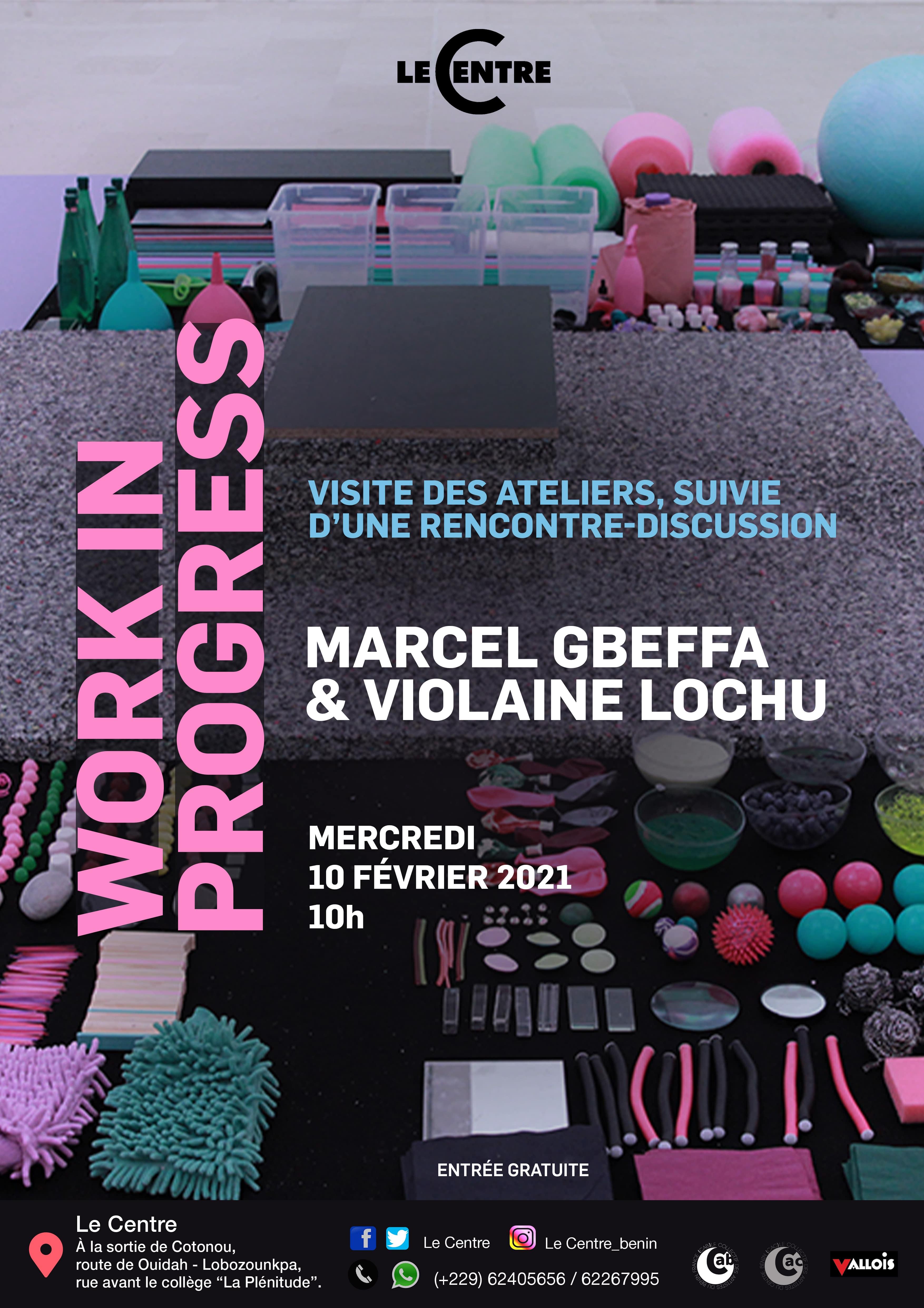 Work in progress, Marcel Gbeffa & Violaine Lochu