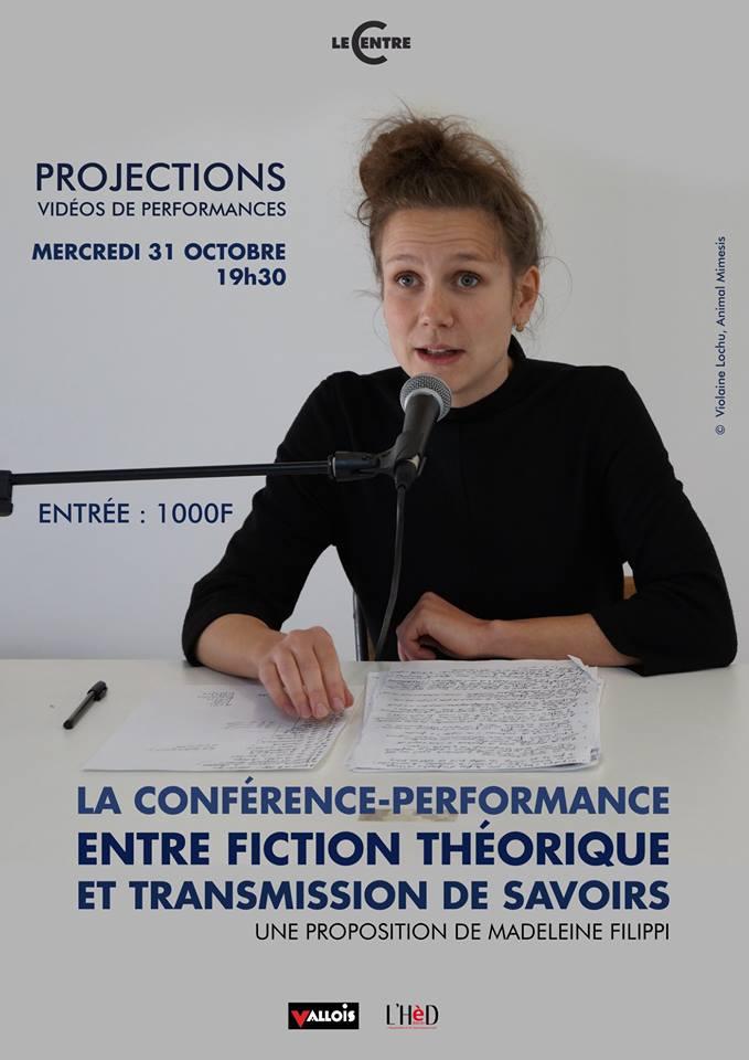 La conférence-performance