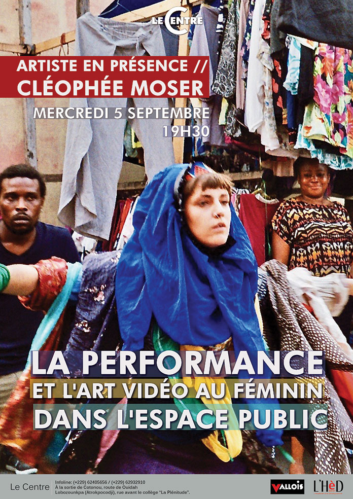 La performance & l'art vidéo au féminin dans l'espace public