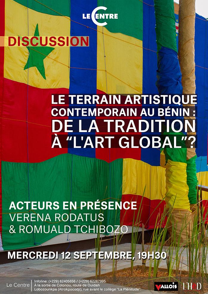 Acteur·rice·s d'art, Verena Rodatus & Romuald Tchibozo