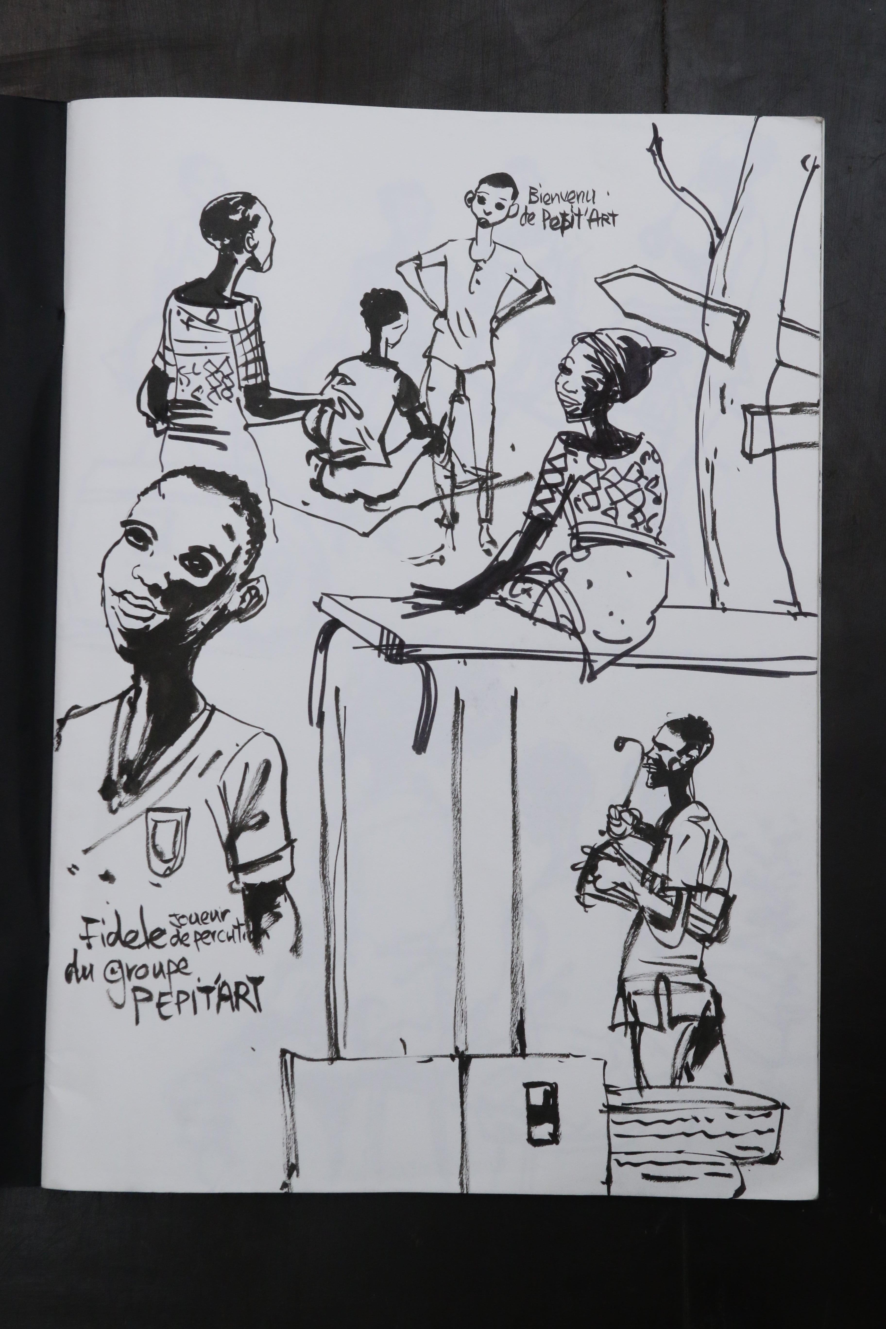 Reportage dessinée, Hector Sonon #2